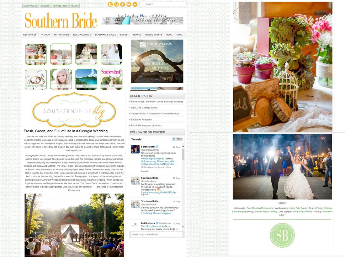 Southern Bride Succulent2015