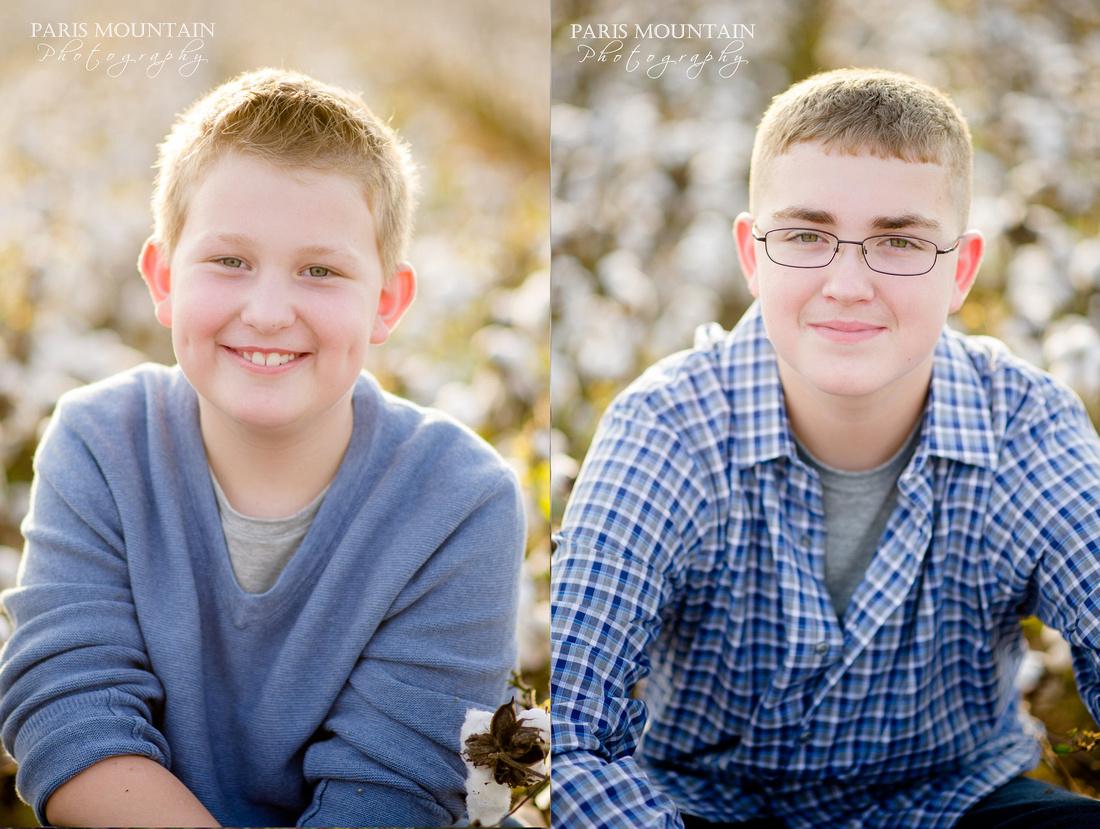 Family Cotton Field Photos 6