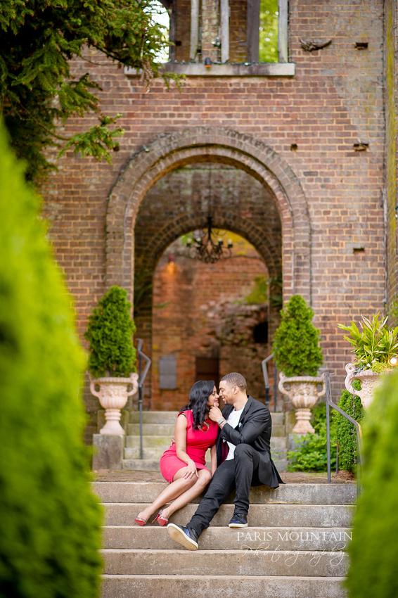 Barnsley Gardens Engagement 13