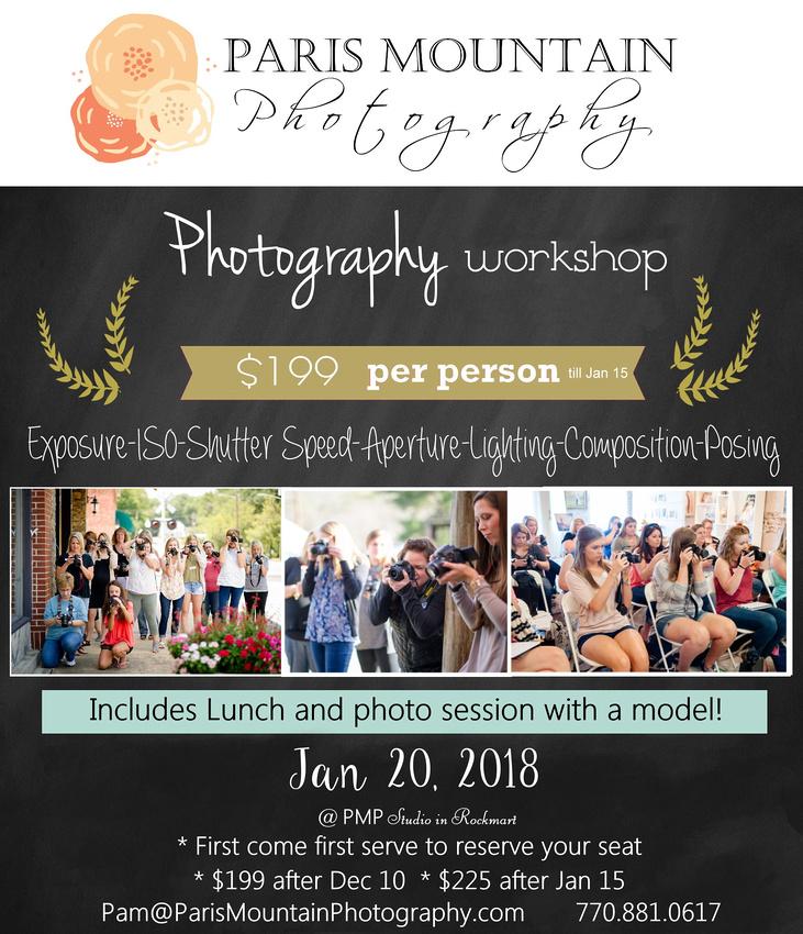 Photography Workshop winter 2018