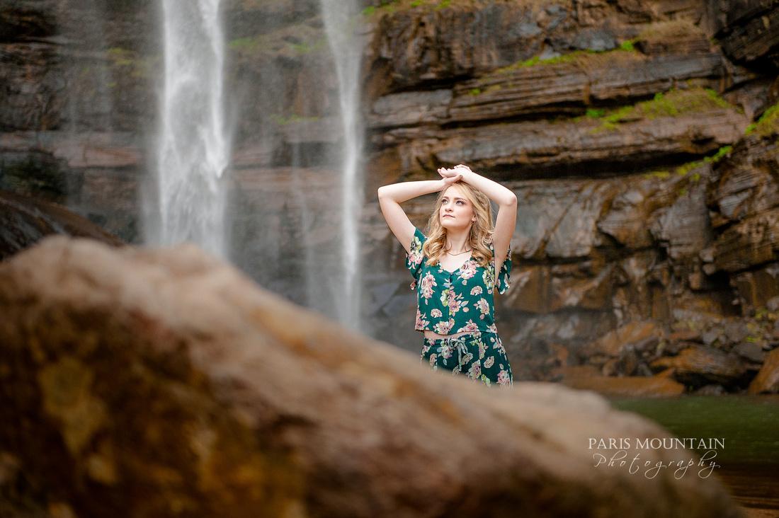Georgia Waterfall Senior Portraits -35