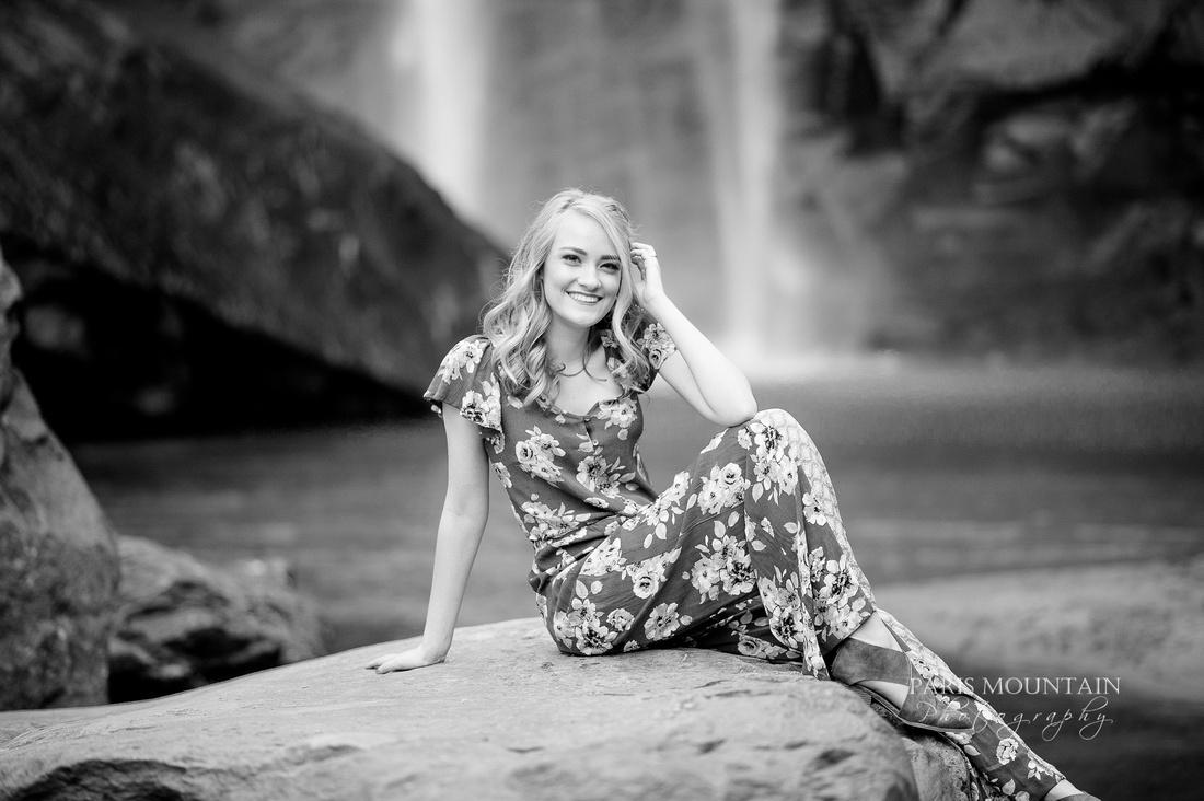 Georgia Waterfall Senior Portraits -40
