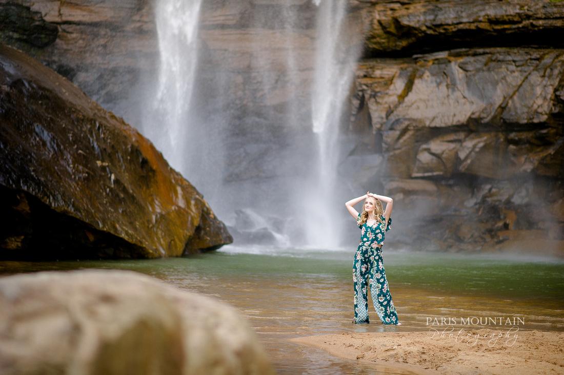 Georgia Waterfall Senior Portraits -44