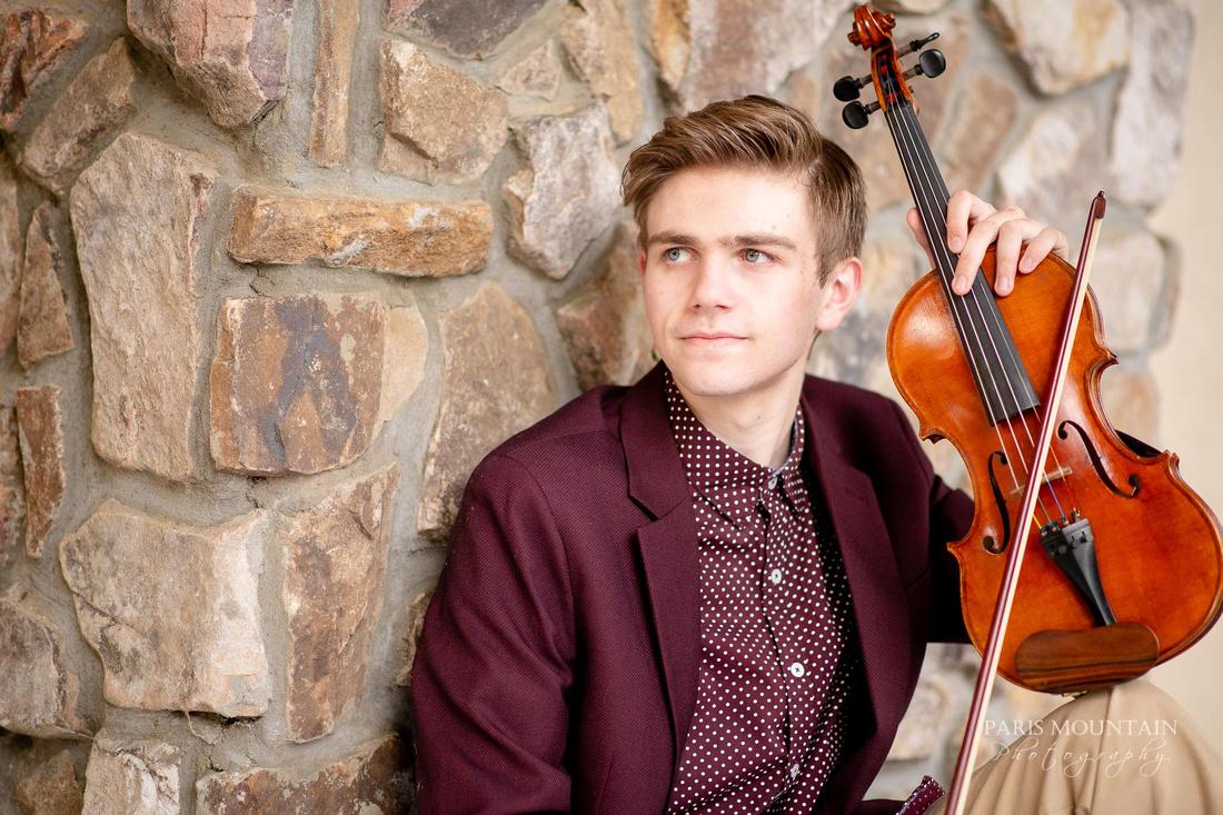 Atlanta Senior Portraits Violin-13