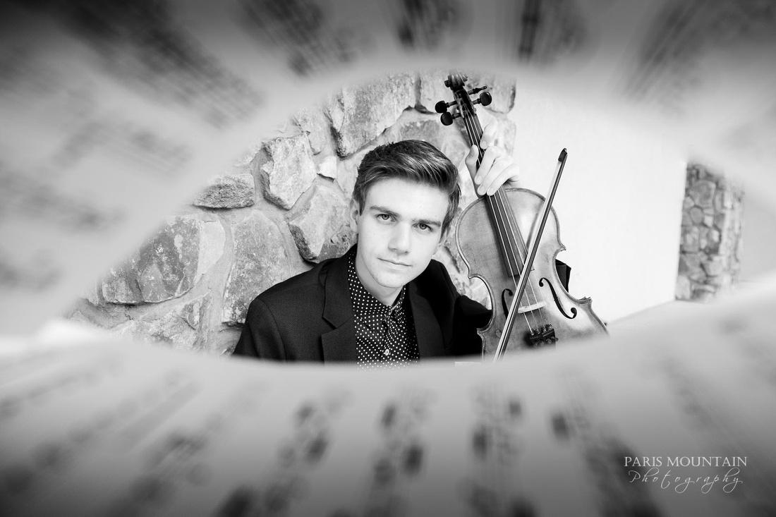 Atlanta Senior Portraits Violin-16