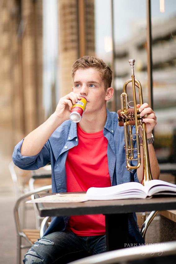 South Paulding Senior Portrait Trumpet Atlanta-40