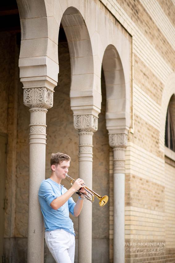 South Paulding Senior Portrait Trumpet Atlanta-43