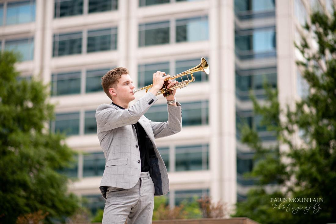South Paulding Senior Portrait Trumpet Atlanta-31