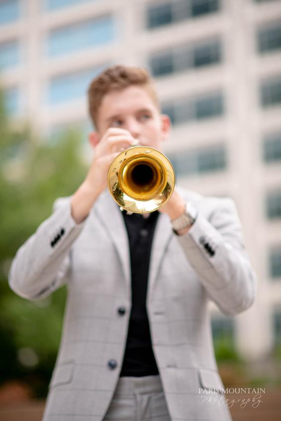 South Paulding Senior Portrait Trumpet Atlanta-32