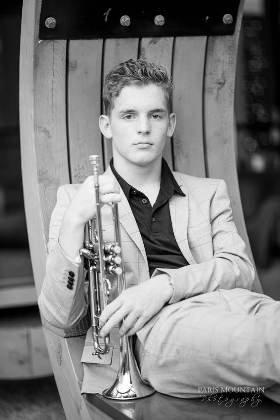 South Paulding Senior Portrait Trumpet Atlanta-35