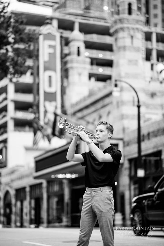 South Paulding Senior Portrait Trumpet Atlanta-39