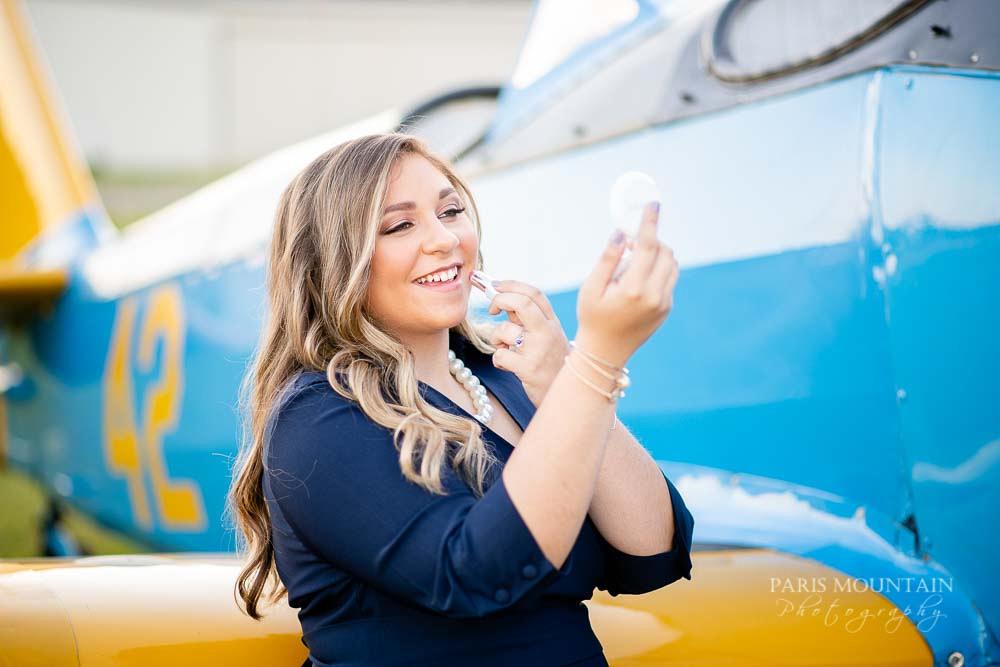 Cartersville Senior Portrait Photographer Airplane Fall-31