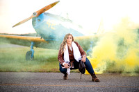 Cartersville Senior Portrait Photographer Airplane Fall-38