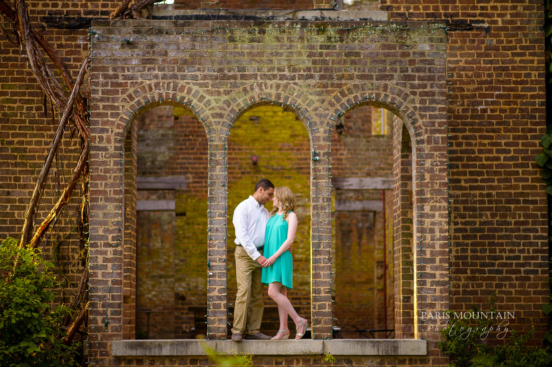 Paris Mountain Photography | Barnsley Gardens Engagement Session