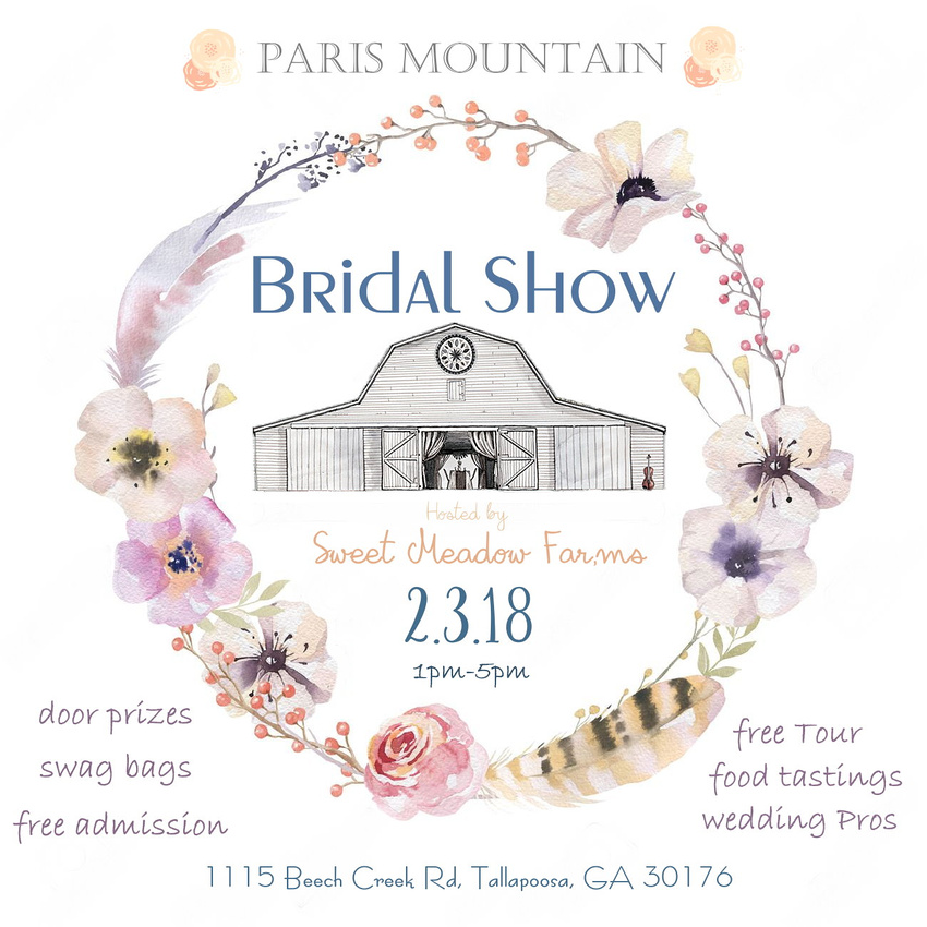 Paris Mountain Bridal Show