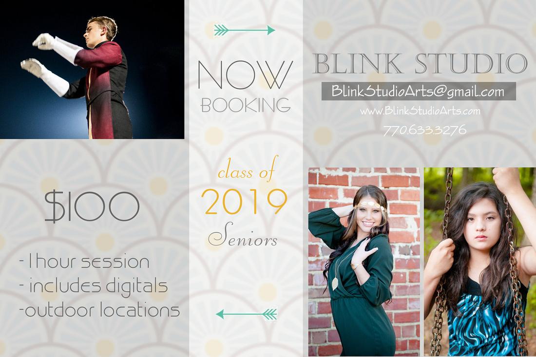 Blink Studio Senior Ad