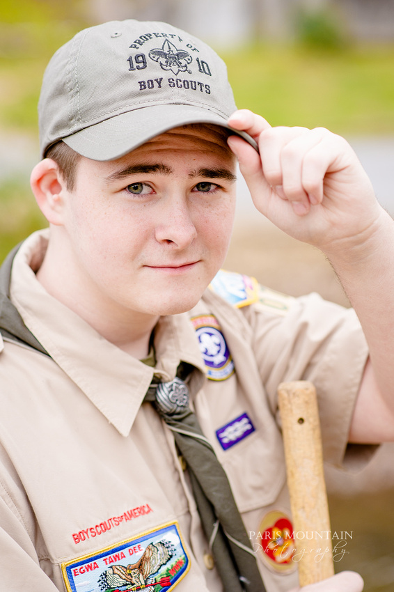 Boy Scout Ourdoors Senior Pictures-26